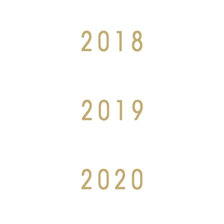 Millesimes 2018