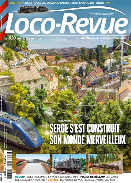 Loco Revue n°850 -  Mai 2018