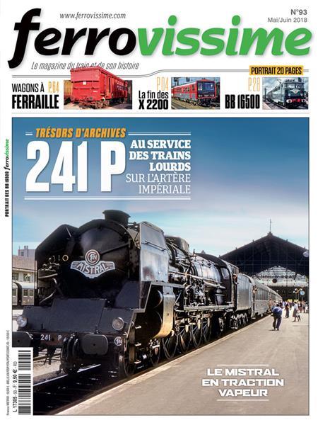 Ferrovissime n°93 Mai - Juin 2018