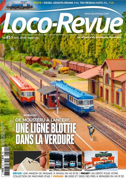 Loco Revue n°851 -  Juin 2018