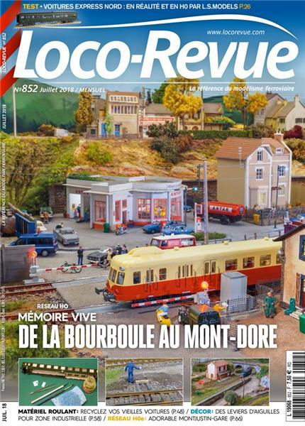 Loco Revue n°852 -  Juillet 2018