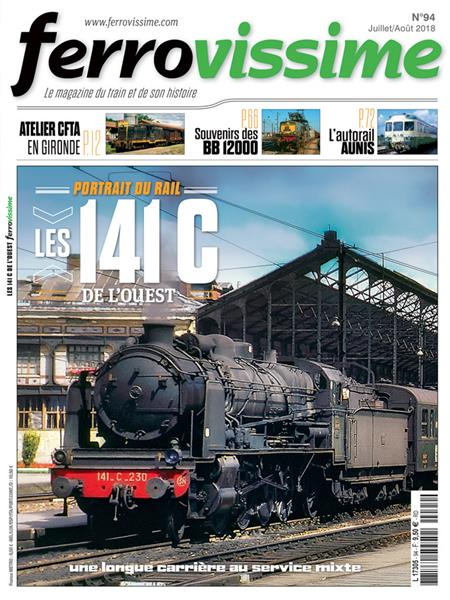 Ferrovissime n°94 Juillet - Août 2018