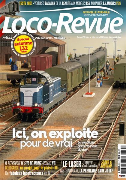 Loco Revue n°855 -  Septembre 2018