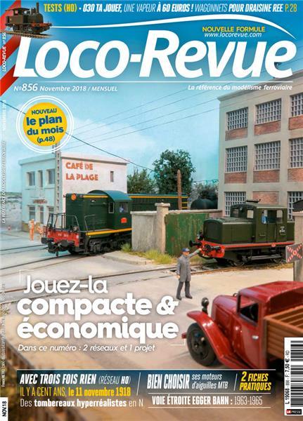 Loco Revue n°856 -  Novembre 2018
