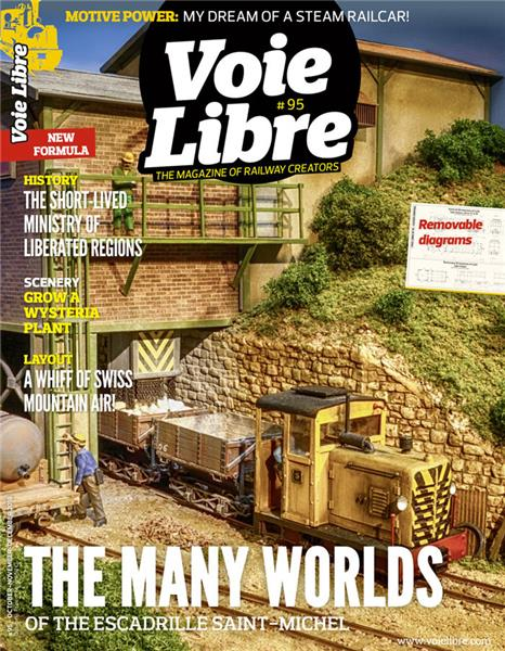 Last issue: Voie Libre International #95 October-November-December 2018