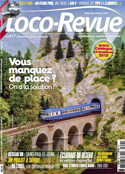 Loco Revue n°857 -  Décembre 2018