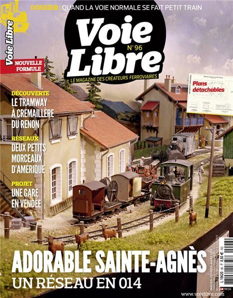 Dernier numéro : Voie Libre 96 Janvier-Février-Mars 2019