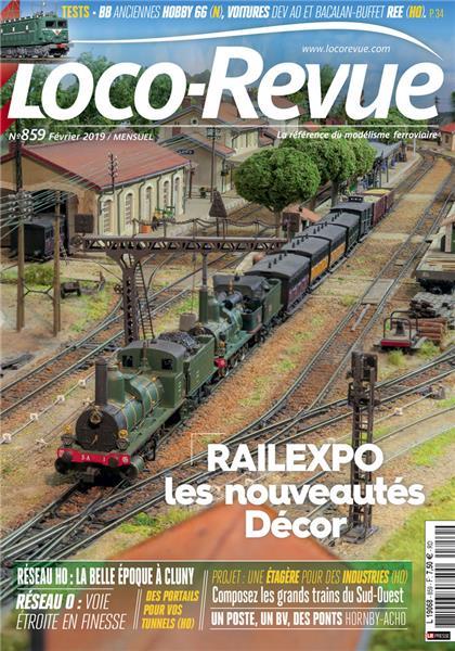 Loco Revue n°859 - Février 2019