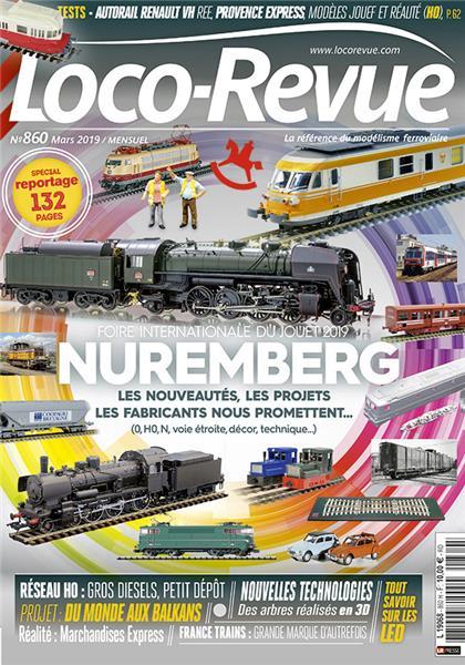 Loco Revue n°860 - Mars 2019