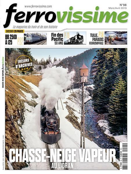 Ferrovissime n°98 Mars-Avril 2019