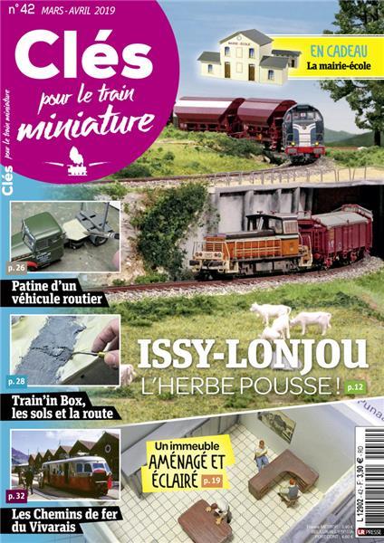 Dernier numéro : Clés pour le train miniature n°42 Mars-Avril 2019