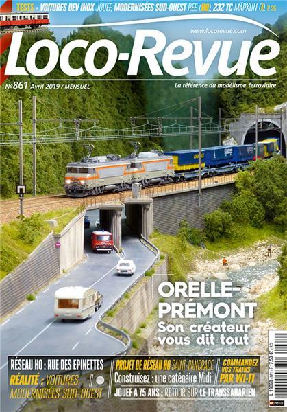 Loco Revue n°861 - Avril 2019