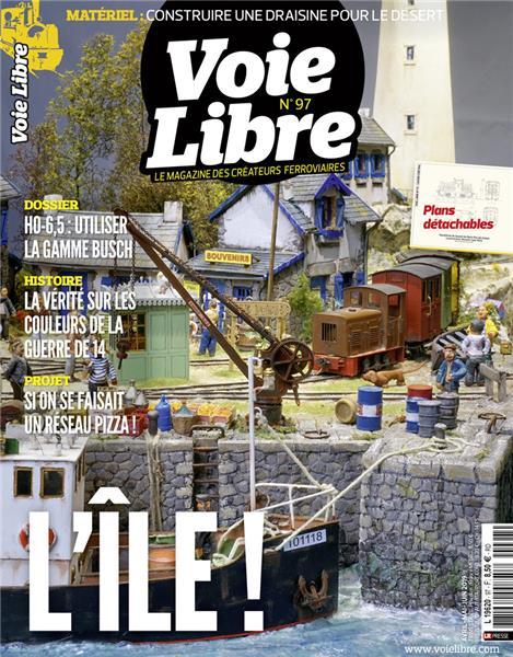 Dernier numéro : Voie Libre 97 Avril-Mai-Juin 2019
