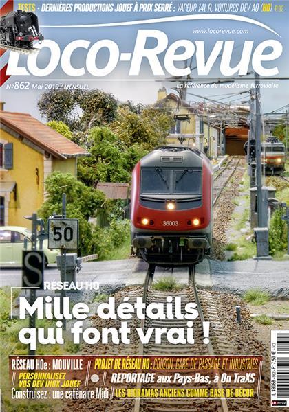 Loco Revue n°862 - Mai 2019