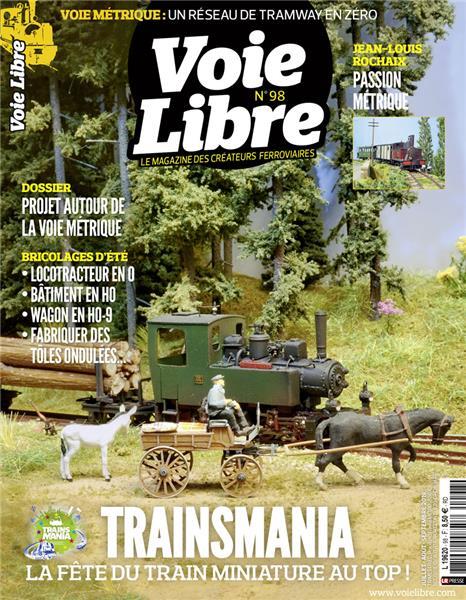 Dernier numéro : Voie Libre 98 Juillet-Août-Septembre 2019