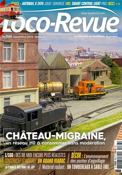 Loco Revue n°866 - Septembre 2019