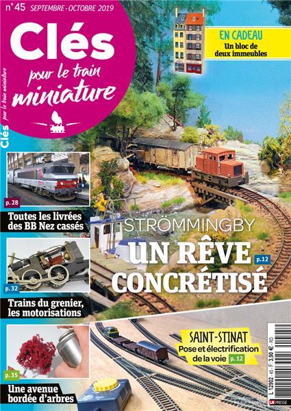Nouveau numéro : Clés pour le train miniature n°45 Septembre-Octobre 2019