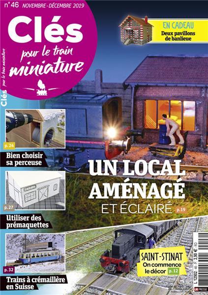 Nouveau numéro : Clés pour le train miniature n°46 Novembre-Décembre 2019