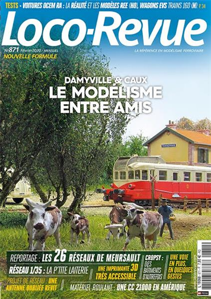 Loco Revue n°871 - Février 2020