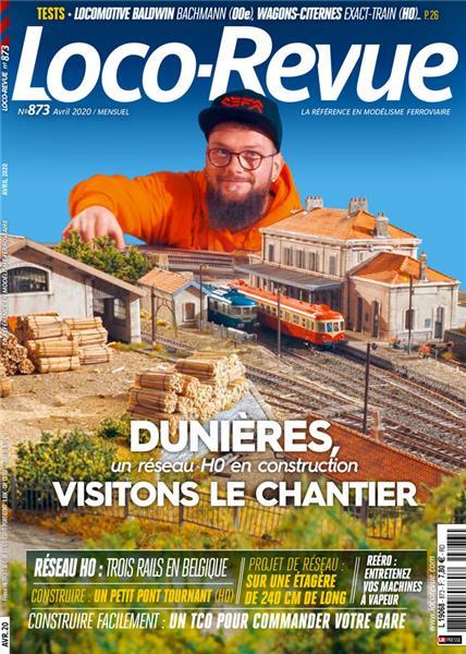 Loco Revue n°873 - Avril 2020