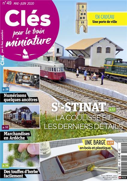 Nouveau numéro : Clés pour le train miniature n°49 Mai-Juin2020