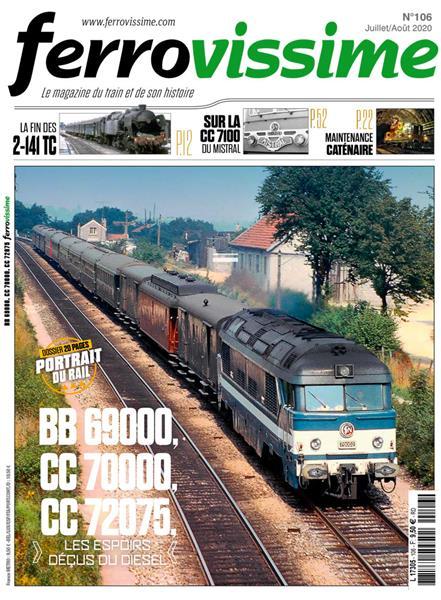 Ferrovissime n°106  Juillet - Août 2020