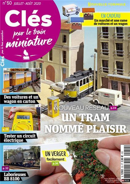 Nouveau numéro : Clés pour le train miniature n°50 Juillet-Août 2020