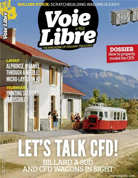 Last issue: Voie Libre International #102 July, August, September 2020