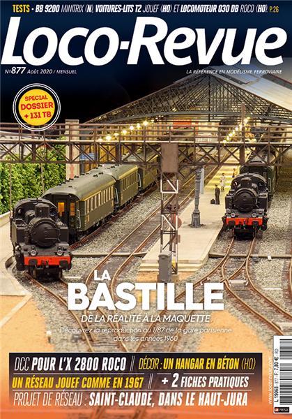 Loco Revue n°877 - Août 2020