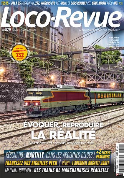 Loco Revue n°879 - Octobre 2020
