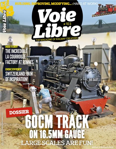 Last issue: Voie Libre International #103 October, November, December 2020