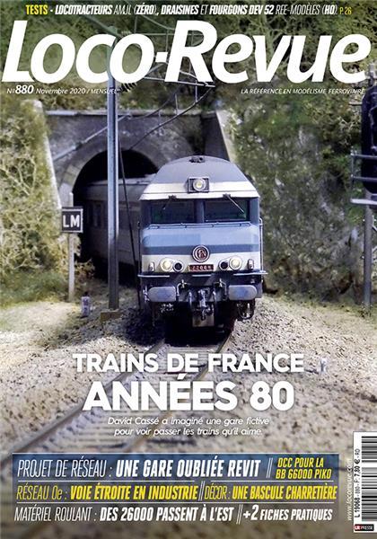 Loco Revue n°880 - Novembre 2020