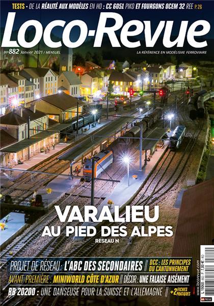 Loco Revue n°882 - Janvier 2021