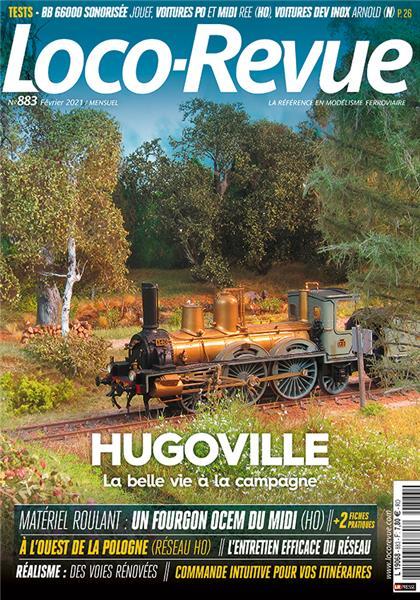 Loco Revue n°883 - Février 2021
