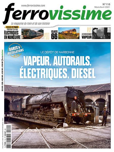 Ferrovissime n°110 Mars-Avril 2021