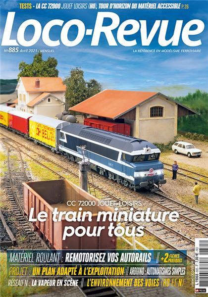 Loco Revue n°885 - Avril 2021