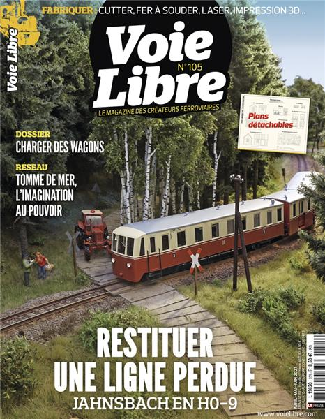 Dernier numéro : Voie Libre 105 - Avril Mai Juin 2021