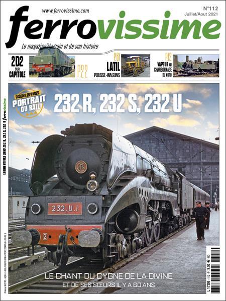 Ferrovissime n°112 Juillet-Août 2021