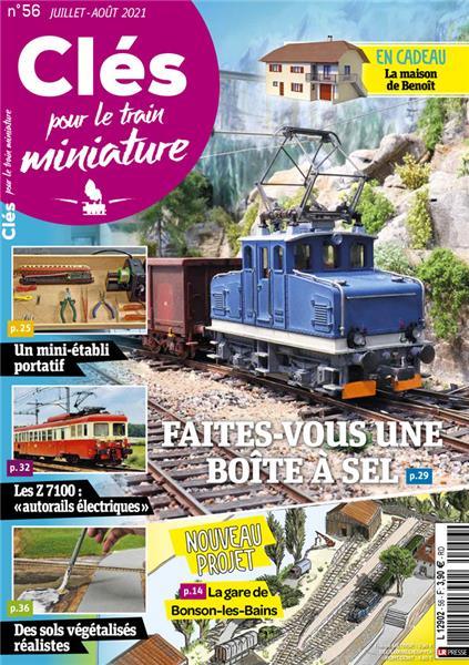 Nouveau numéro : Clés pour le train miniature n°56 Juillet-Août 2021