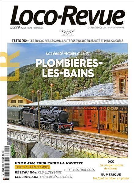 Loco Revue n°889 - Août 2021
