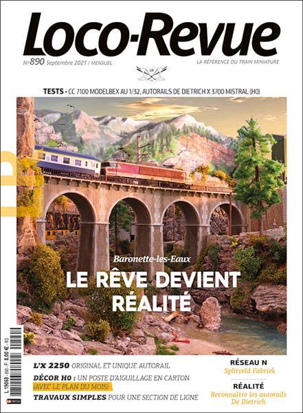 Loco Revue n°890 - Septembre 2021