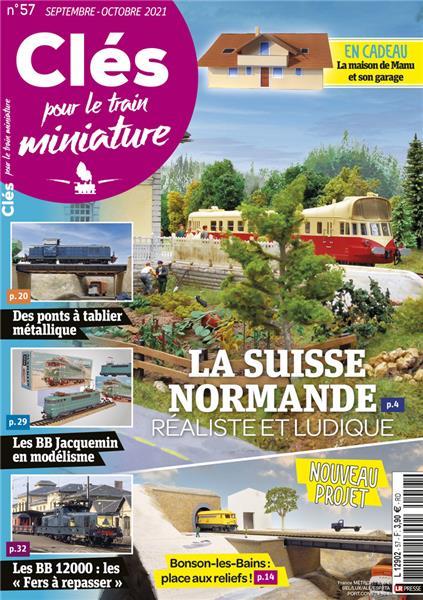 Nouveau numéro : Clés pour le train miniature n°57 Septembre-Octobre 2021