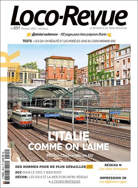 Loco Revue n°891 - Octobre 2021