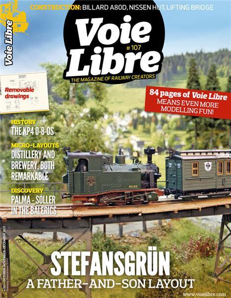 Last issue: Voie Libre International #107 October November December 2021