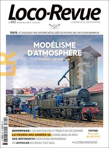 Loco Revue n°892 - Novembre 2021