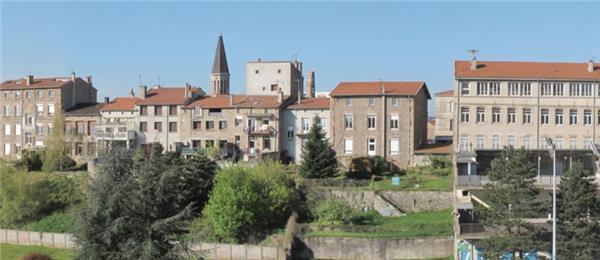 Fond De Decor Panoramique Village 30 Cm Lr Presse