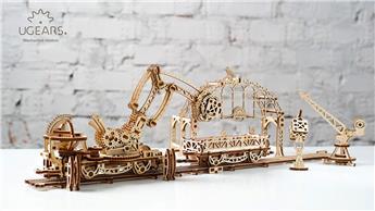 Manipulateur ferroviaire à assembler