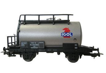 Wagon citerne Igol, SNCF, Ep. III