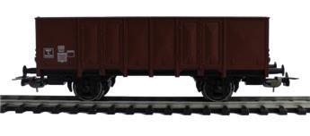 Wagon tombereau SNCF brun, 2 essieux, Ep. III