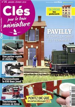 Clés pour le train miniature n° 35